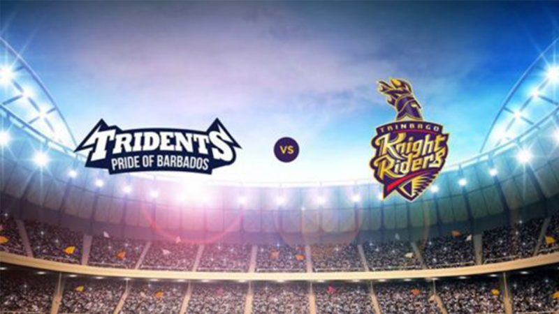 28th MATCH, Trinbago Knight Riders vs Barbados Tridents