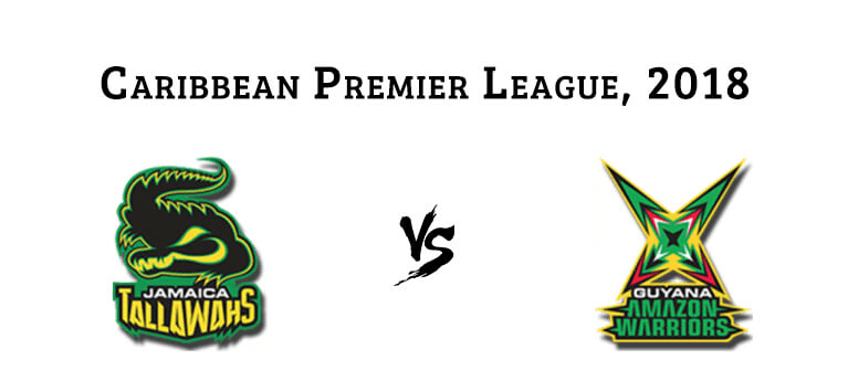 29th MATCH, Guyana Amazon Warriors vs Jamaica Tallawahs