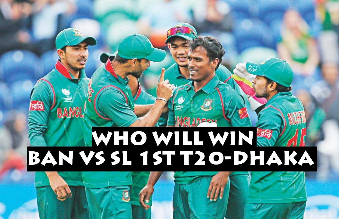 Bangladesh vs Sri Lanka
