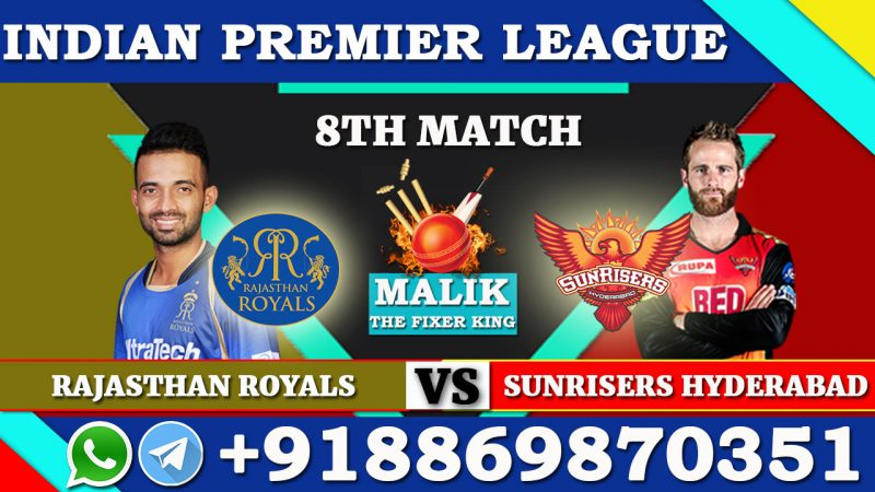 8th Match SRH VS RR