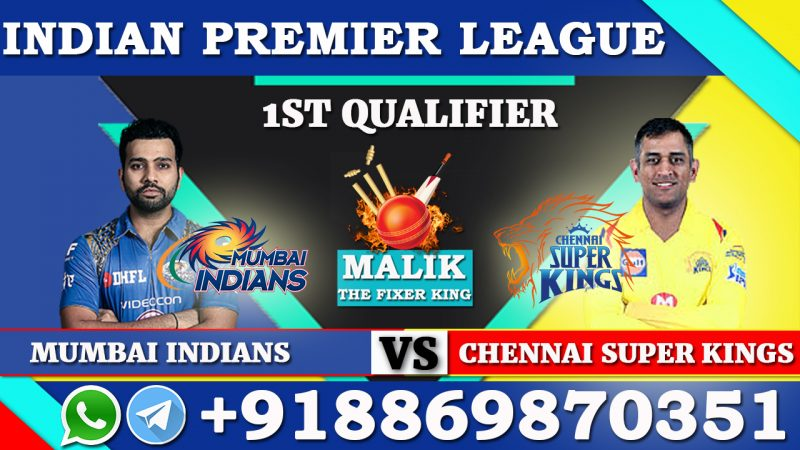 1st Qualifier MI VS CSK