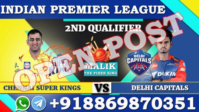 2ND Qualifier CSK VS DC
