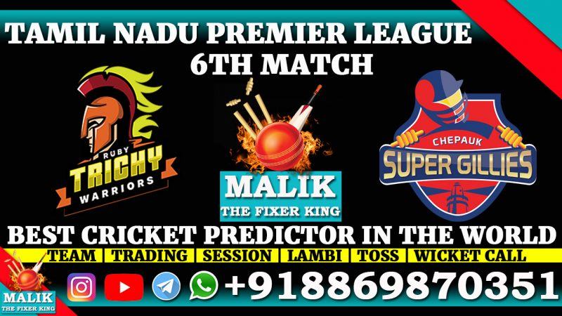 Ruby Trichy Warriors vs Chepauk Super Gillies