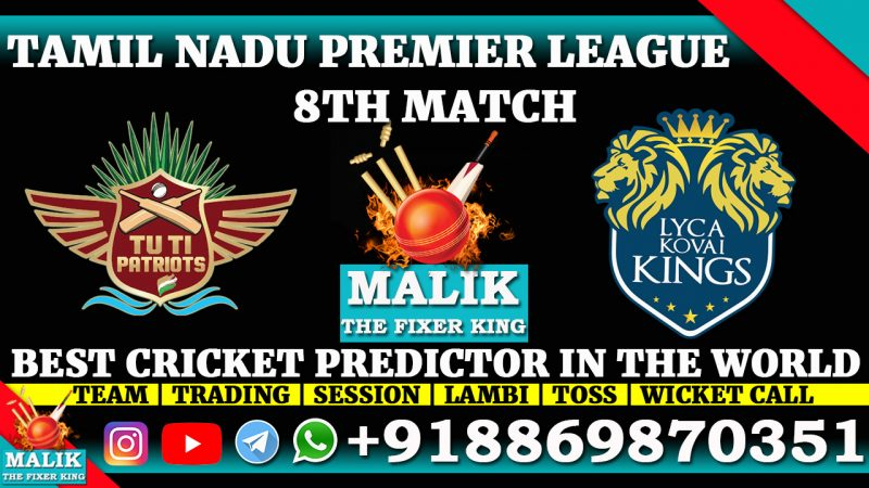 TUTI Patriots vs Lyca Kovai Kings