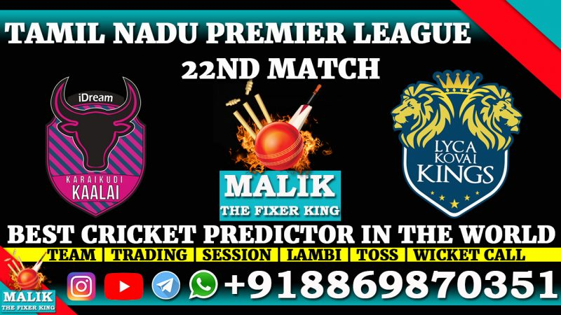 Karaikudi Kaalai vs Lyca Kovai Kings