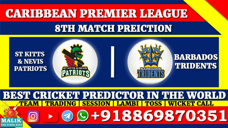 St Kitts and Nevis Patriots vs Barbados Tridents